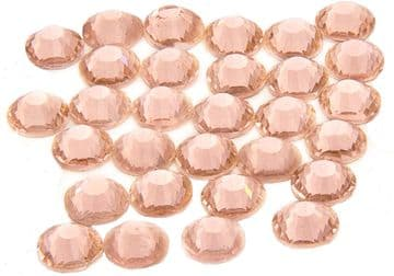 Peach, EIMASS® 7787 Grade A Flat-Back Non-Hot Fix Glass Crystals