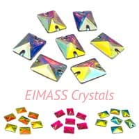 Resin Rectangle Shape Crystals