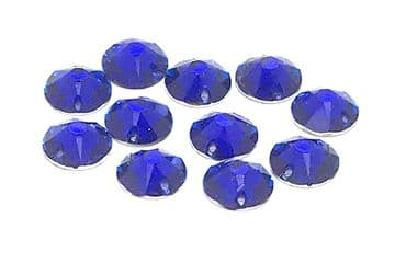 Sapphire Blue, EIMASS® Star Cut Resin Sew on Crystals, Non Hot Fix Rhinestones