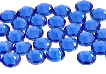 Sapphire Royal Blue EIMASS® 7787 Grade A Flat-Back Non-Hot Fix Glass Crystals