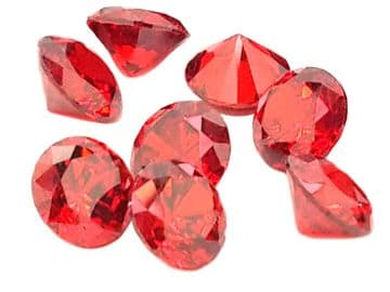 Siam Red Chatons, EIMASS® Exquisite Range Synthetic Diamonds