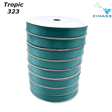 Tropic(323) Premium Double Sided EIMASS® Satin Ribbons 6mm 10mm 15mm 20mm 25mm 38mm