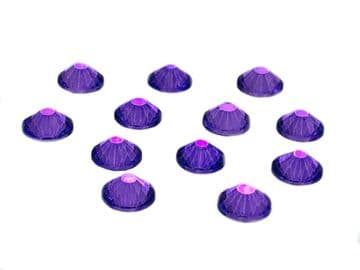 Violet, EIMASS® 7787 Grade A Flat-Back Non-Hot Fix Glass Crystals