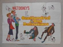 101 Dalmatians - Walt Disney Film Poster | UK Quad