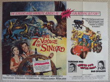 7th Voyage of Sinbad | Watch Out We're Mad | UK Quad Poster
