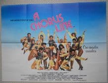 A Chorus Line (1986) Film Poster - UK Quad