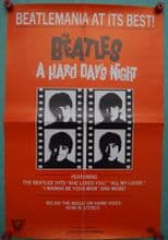 A Hard Days Night - The Beatles   Video Poster