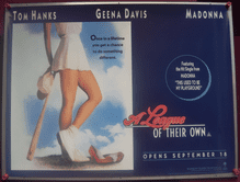 A League of Their Own (1992) - Madonna | UK Quad Poster