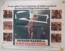A Man Called Horse - Richard Harris | UK Quad Poster