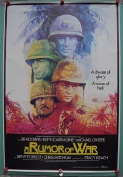 A Rumor of War - Movie Poster | British One Sheet