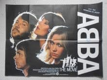 Abba the Movie (1977) Vintage Film Poster - UK Quad