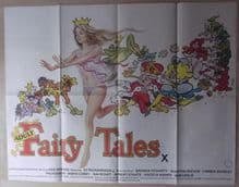 Adult Fairy Tales (1978) - Vintage Film Poster | UK Quad