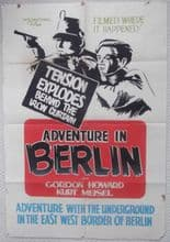 Adventure in Berlin, Original Movie Poster, Gordon Howard, Irina Garden, '52