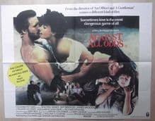 Against All Odds (1984) Vintage Movie Poster - UK Quad
