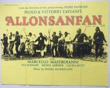 Allonsanfan (1974) Film Poster - UK Quad