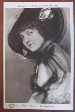 Anna Little Silent Film Star - Vintage Postcard
