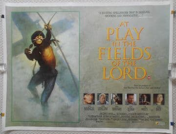 Movie Posters - At Play in the Fields of the Lord   UK Quad