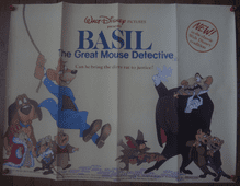 Basil the Great Mouse Detective - UK Quad Poster