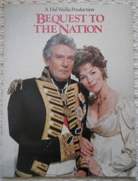 Bequest to the Nation, 16 page campaign book, Glenda Jackson, Peter Finch, '73