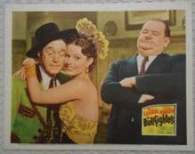Bullfighters, Original lobby card, Laurel and Hardy, '45