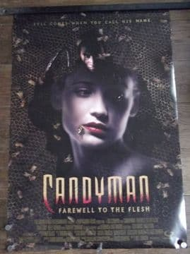 Candyman 2, Farewell to the Flesh, Original DS Movie Poster,Tony Todd, '95