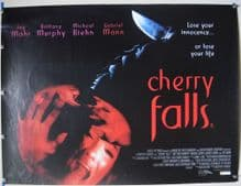 Cherry Falls (2000) Horror Poster Brittany Murphy - UK Quad Poster