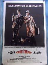 City Heat, Movie Poster, Clint Eastwood, Burt Reynolds, '84