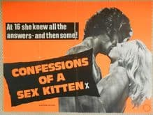 Confessions of a Sex Kitten, UK Quad Poster, Marie Forsa, Nadia Henkowa, '74