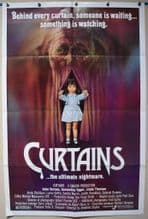 Curtains Horror Poster - US One sheet