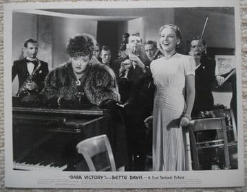 Dark Victory, Original Movie Still, Bette Davis is socialite Judith Traherne '39