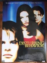 Disturbing Behaviour, Original DS Movie Poster, Katie Holmes, James Marsden, '98