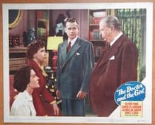 Doctor and the Girl, Original Lobby Card #4, Glenn Ford, Janet Leigh, '49