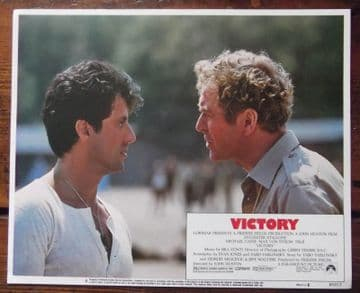 Escape to Victory, Original Lobby Card #8, Sylvester Stallone Michael Caine 1981