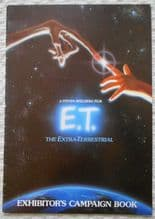 ET the Extra Terrestrial, Campaign Book & Sypnosis, '82