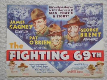 Fighting 69th, Flyer/Herald, James Cagney, George Brent, Pat O'Brien, '40