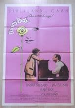 Funny Lady, Original Movie Poster, Barbara Streisand, James Caan, '75