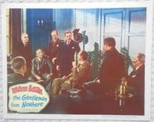 Gentleman from Nowhere, Original Lobby Card #8, Warner Baxter, Fay Baker, '48