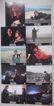 Hitcher, Original Lobby Cards (10), Rutger Hauer, C Thomas Howell, '86