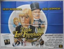 Little Lord Fauntleroy, Original UK Quad Poster, Alec Guinness, Ricky Schroder, '80