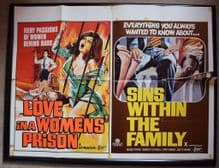 Love in a Womens Prison / Sins Within the Family - UK Quad