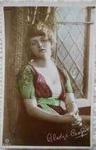 Miss Gladys Cooper, Vintage Postcard, Actress, starred in Rebecca, c1910s