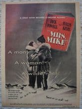 Mrs Mike (1949) - Dick Powell | Vintage Trade Ad