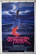 Night Train to Terror Horror Poster -US One Sheet