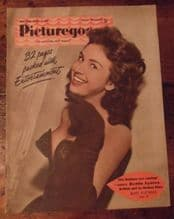 Picturegoer October 16th 1954 Issue, Hedda Lynton, Bing Crosby, Cheesecake pics.