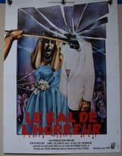 Prom Night Horror Poster - French