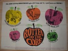 Rotten to the Core- UK Quad Film Poster | Eric Sykes