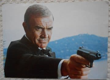 Sean Connery is James Bond, Oversize Jumbo Photo