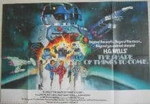 Shape of Things to Come, Original UK Quad Film Poster, Jack Palance, '79
