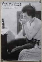 "Sid Vicious in a New York Hotel, Maxi Poster 36"" x 24"" (vg-f)"