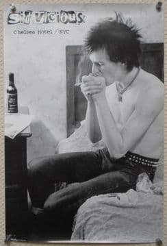 Sid Vicious in a New York Hotel, Maxi Poster 36